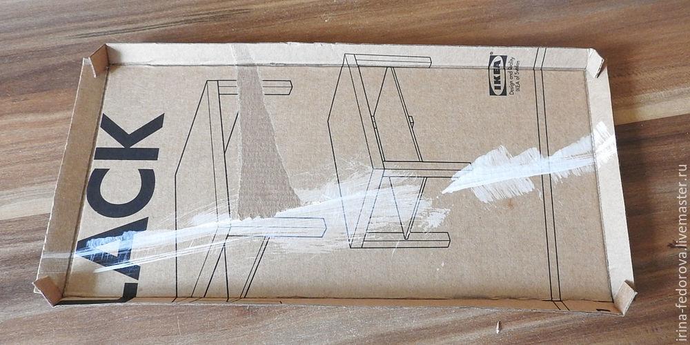 картонная кроватка
