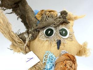 Новые совы в магазине. 10см. Ярмарка Мастеров - ручная работа, handmade.
