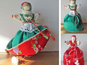 Традиционные текстильные куклы: Девка-Баба   Ярмарка Мастеров - ручная работа, handmade