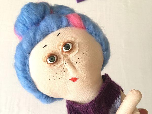 Новая кукла с Характером | Ярмарка Мастеров - ручная работа, handmade