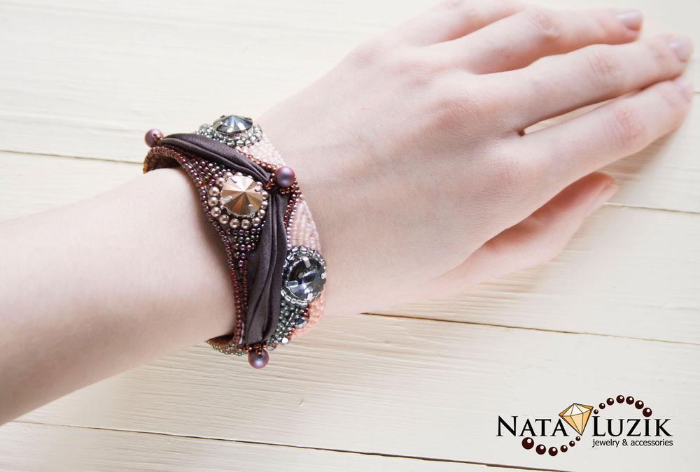 украшения шибори, для начинающих, как сделать браслет, наталья лузик