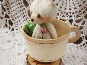 Миниатюрный мишка. Ярмарка Мастеров - ручная работа, handmade.