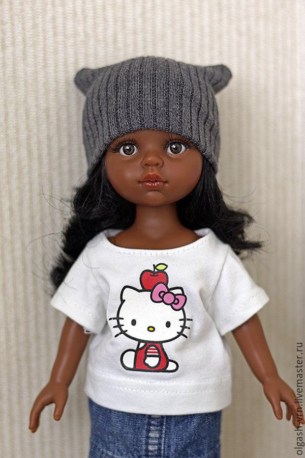 Как сшить колготки, чулочки и шапочку для куклы
