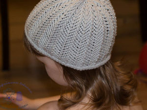 Летняя ажурная шапочка девочке из хлопка Алабама в 3 нити.Описание | Ярмарка Мастеров - ручная работа, handmade