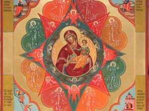 """17 сентября празднование иконы Иконы Божией Матери, именуемой """"Неопалимая Купина"""". Ярмарка Мастеров - ручная работа, handmade."""