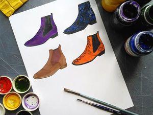 Прием заказов на пошив обуви. Ярмарка Мастеров - ручная работа, handmade.