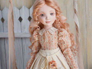 Анюта, текстильная авторская кукла. Ярмарка Мастеров - ручная работа, handmade.