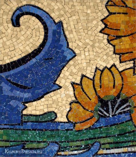 Мозаика из смальты, фрагмент