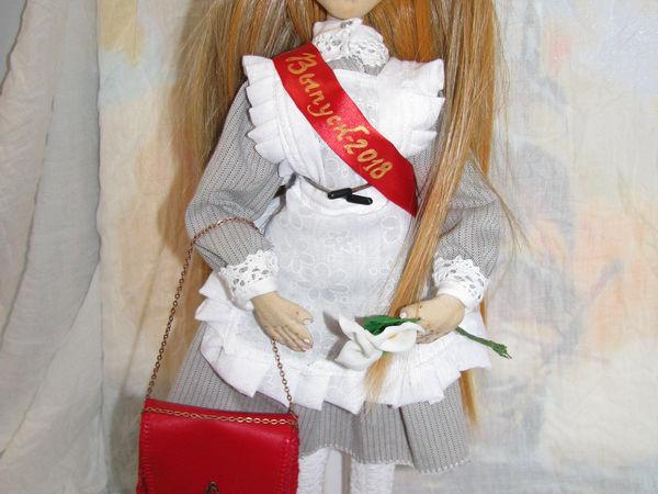 Текстильная кукла выпускница Лизонька | Ярмарка Мастеров - ручная работа, handmade