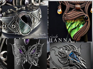 8 Outstanding Wire Wrap Artists from Across the World. Livemaster - handmade