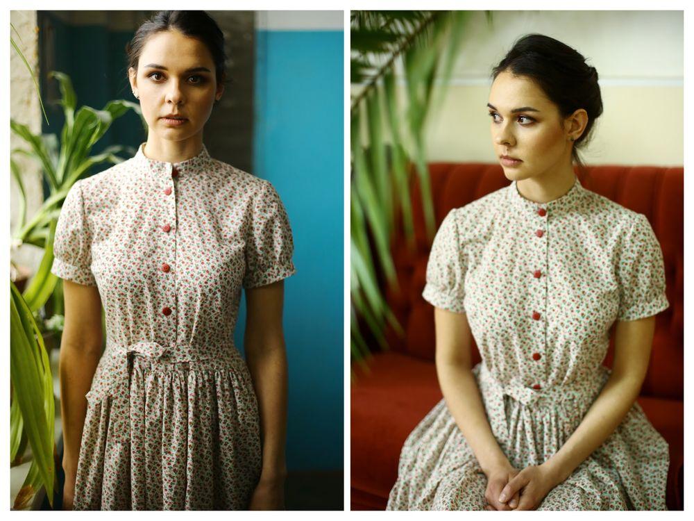 простые летние платья