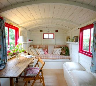 Interior of a wonderful tiny house