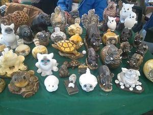 Скульптуры из натурального уральского камня. Ярмарка Мастеров - ручная работа, handmade.