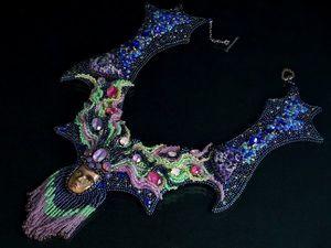Aurora Borealis Конкурсное колье Swarovski. Ярмарка Мастеров - ручная работа, handmade.