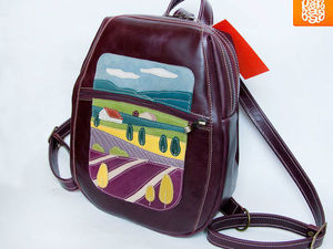 Готовый рюкзачок с гранатами ищет свою хозяйку!. Ярмарка Мастеров - ручная работа, handmade.