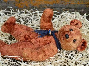 Советский мишка (выкройка 50-70 годов). Ярмарка Мастеров - ручная работа, handmade.