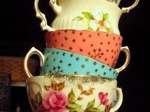 Чайно-кофейная акция  со скидками от Винтажной Баварии. Ярмарка Мастеров - ручная работа, handmade.