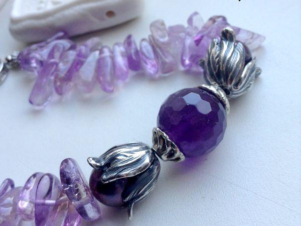 В подарок первому покупателю - браслет из натуральных камней!!   Ярмарка Мастеров - ручная работа, handmade
