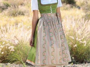 Немецкий народный костюм как источник идей. Ярмарка Мастеров - ручная работа, handmade.