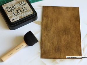 How to Quickly Make Wooden Surface on Cardboard. Livemaster - handmade