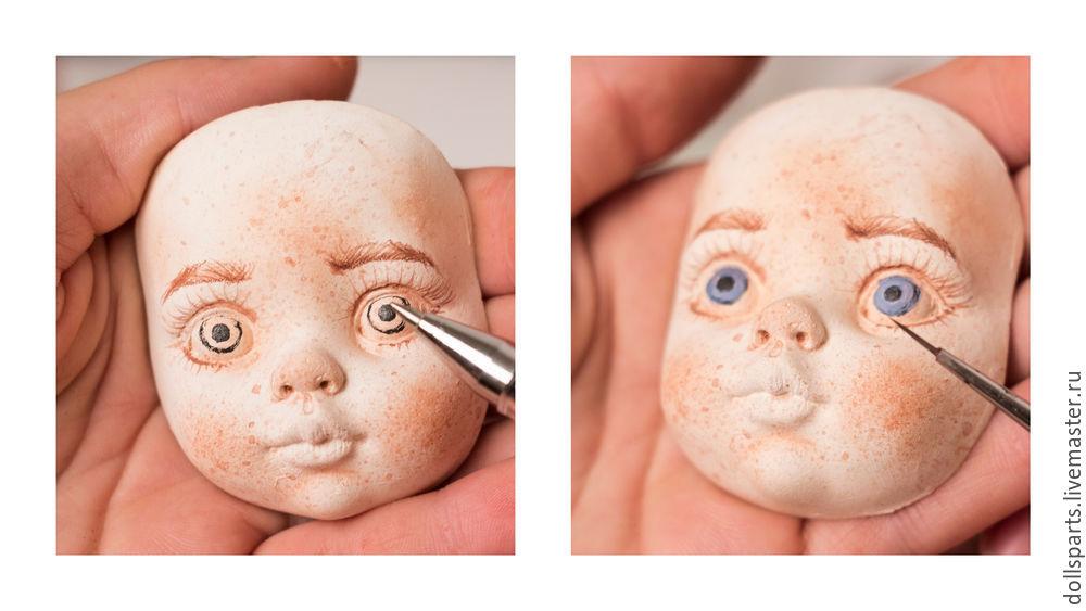 Clase magistral pintando la cara de una muñeca, foto número 17
