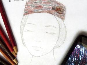 Шляпка-таблетка | Ярмарка Мастеров - ручная работа, handmade