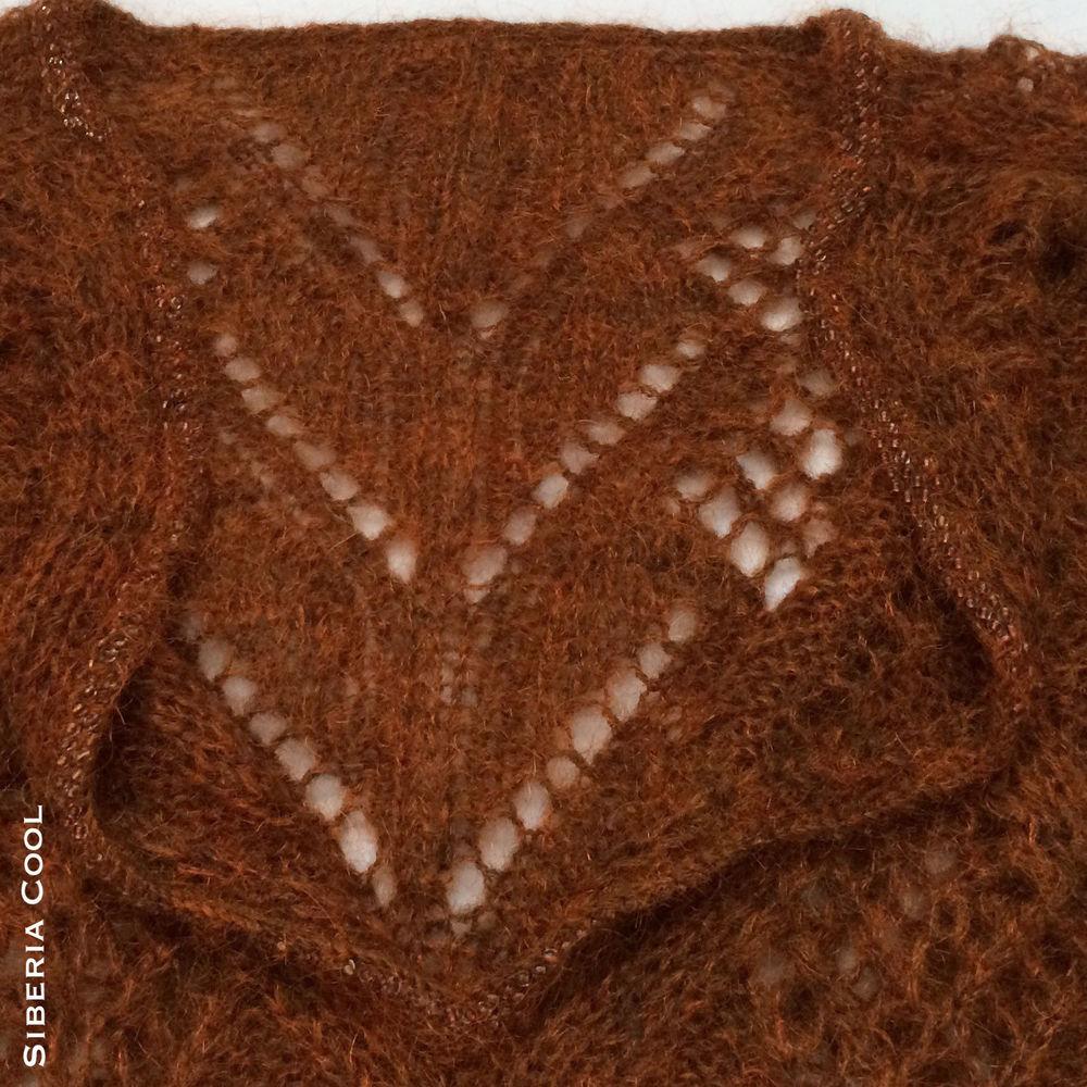 купить свитер, свитер спицами, вязание с бисером, ажурный свитер