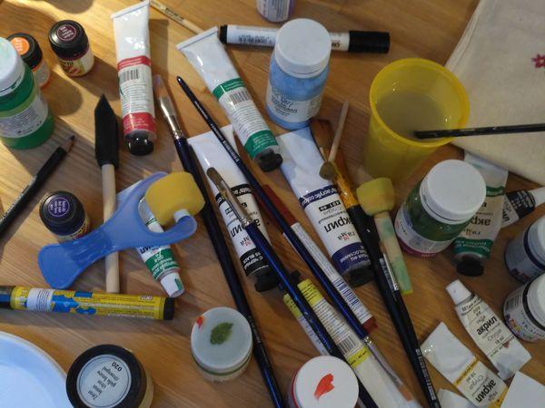 Правила проведения офлайн мастер-классов по рисованию на ткани | Ярмарка Мастеров - ручная работа, handmade