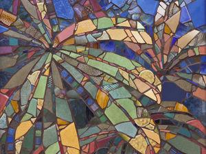 Картины из керамической мозаики канадского мастера Sharon Loeppky. Ярмарка Мастеров - ручная работа, handmade.