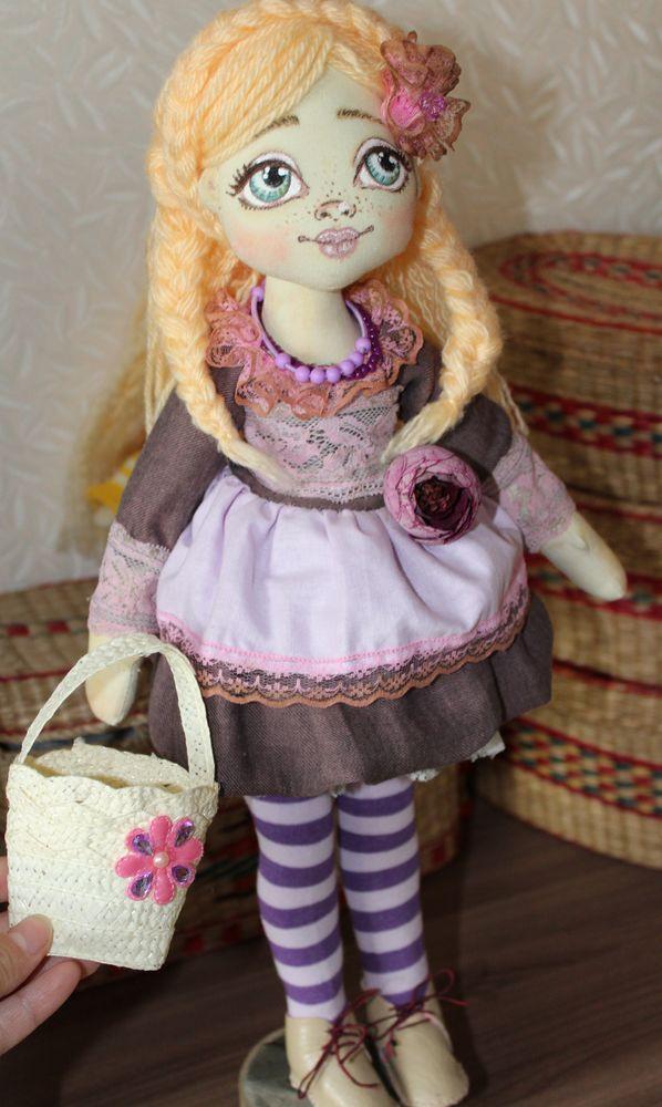 текстильная кукла, деревенский стиль, кукла ручная работа, русская красавица
