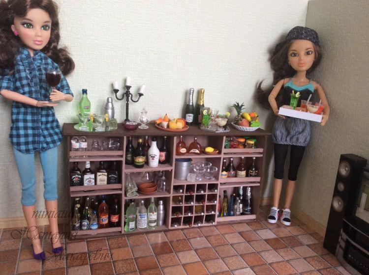 кукольный дом, миниатюра фото