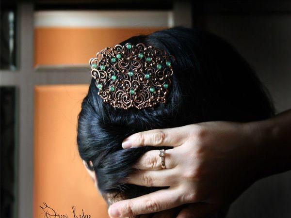 Как носить гребни и шпильки? | Ярмарка Мастеров - ручная работа, handmade
