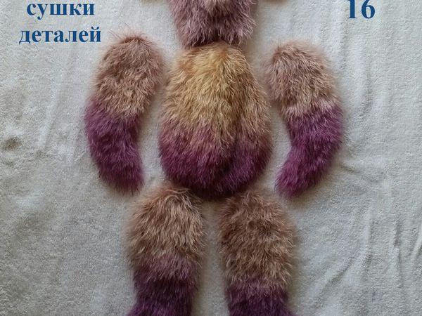 Простой вариант полного или частичного окрашивания меха игрушечного мишки: мастер-класс | Ярмарка Мастеров - ручная работа, handmade