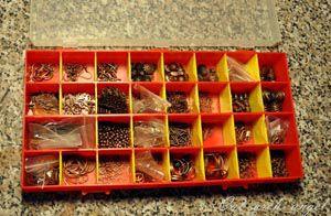 коробка с медной фурнитурой