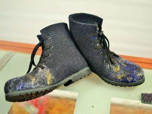 Отчёт об индивидуальном мастер-классе по валяным ботинкам (NewVoilok) | Ярмарка Мастеров - ручная работа, handmade