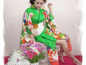 Как надеть кимоно   Ярмарка Мастеров - ручная работа, handmade