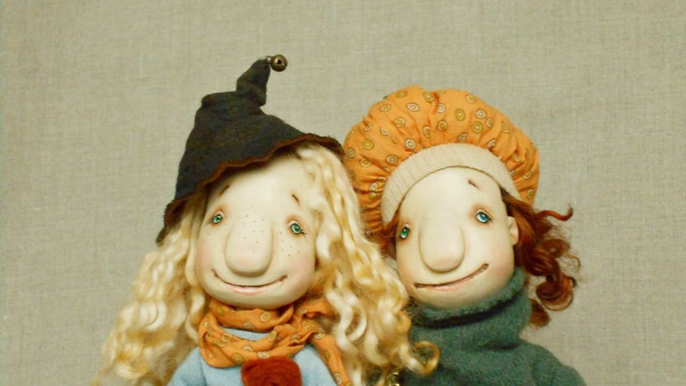 хэллоуин, куколки на хэллоуин