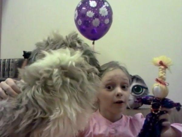 Видео мастер-класс: делаем с детьми куклу-мотанку | Ярмарка Мастеров - ручная работа, handmade