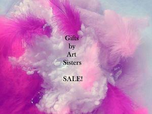 Магазин Gifts by Art Sisters примет участие в BIG SALE!   Ярмарка Мастеров - ручная работа, handmade
