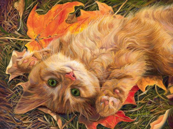 Канадская художница Lucie Bilodeau и ее кошки: подборка из 50 картин | Ярмарка Мастеров - ручная работа, handmade