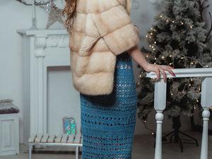 Новая работа из пряжи Самарканд от Ольги! Распродажа на определенные виды пряжи!. Ярмарка Мастеров - ручная работа, handmade.