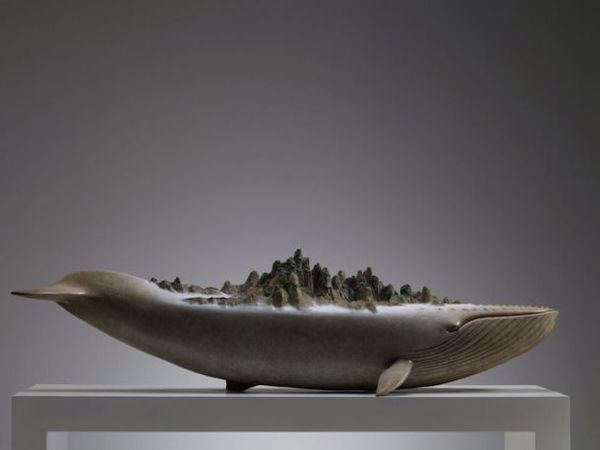 Невероятный симбиоз между фантастикой и мифологией в скульптурах Wang Ruilin | Ярмарка Мастеров - ручная работа, handmade