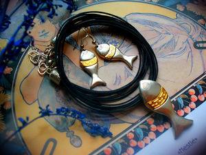 Летняя распродажа!Ловись рыбка большая и маленькая. Ярмарка Мастеров - ручная работа, handmade.
