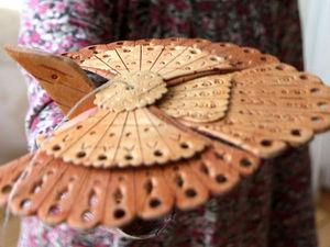 Мастер-класс: Птица счастья из бересты | Ярмарка Мастеров - ручная работа, handmade