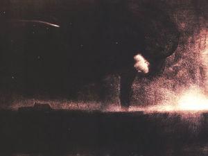 """Goddess of the night """"Богиня ночи"""" Кулон из полимерной глины. Ярмарка Мастеров - ручная работа, handmade."""