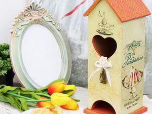 Создаем чайный домик «Нежная история». Ярмарка Мастеров - ручная работа, handmade.