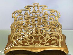 Раритетище Салфетница Большая бронза Depose 9   Ярмарка Мастеров - ручная работа, handmade
