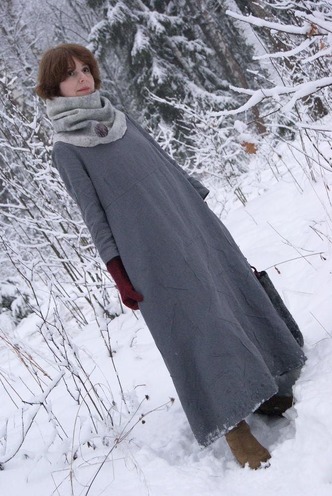 войлок, зима