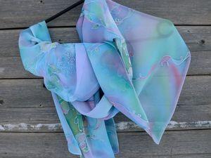 Батик шарф