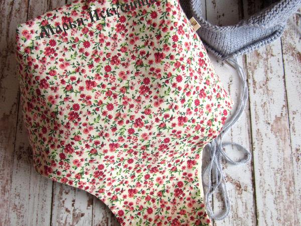 Как сшить сумку для рукодельницы   Ярмарка Мастеров - ручная работа, handmade